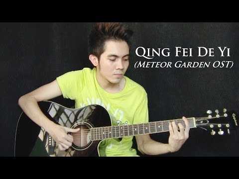 Meteor Garden Ost - Qing Fei De Yi Cover - Harlem Yu (fingerstyle Guitar) video