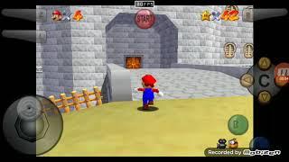 Super Mario 64: Perder vida dentro del castillo