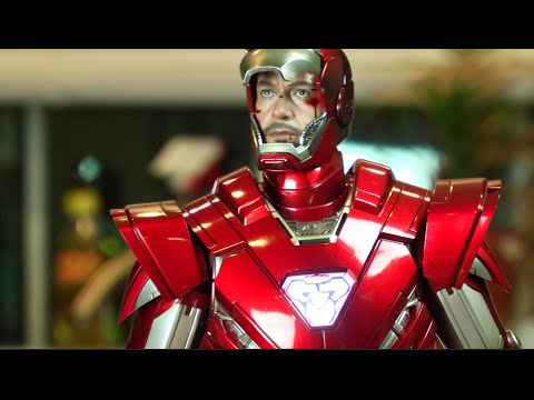 Hot Toys Special Edition Silver Centurion unboxing and review MMS213 鉄人