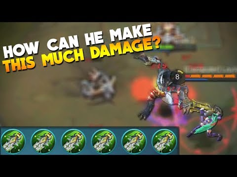 100% DAMAGE on ROGER! Mobile Legends New Hero Gameplay/Build