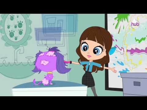 Littlest Pet Shop Bad Hair Day Clip The Hub YouTube