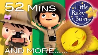 download musica Going On A Lion Hunt Plus Lots More Nursery Rhymes 52 Minutes Compilation from LittleBabyBum