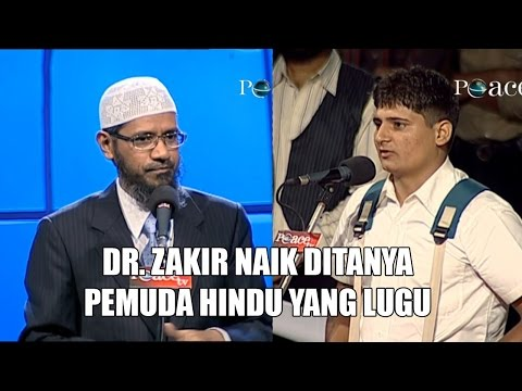 Dr. Zakir Naik Ditanya Pemuda Hindu Yang Lugu