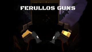 Minecraft / Mod-play / Ferullo's Guns Mod / CZ koment / HD-720p