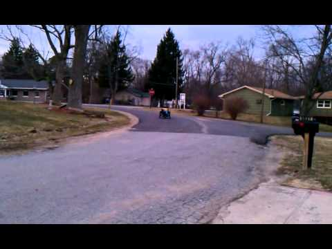 Townsley Curtis 's Electric Trike  FFR equipt!!!!