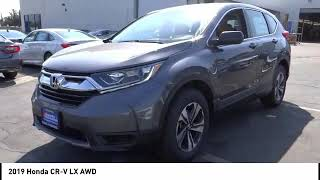 2019 Honda CR-V Pasadena Los Angeles Glendale Alhambra Cerritos Orange County 191103