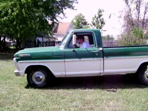 1969 Ford F100 Ranger - YouTube