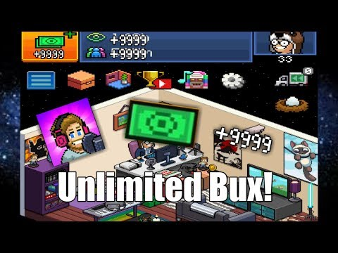 Unlimited Bux & views glitch (Pewdiepie's Tuber Simulator)