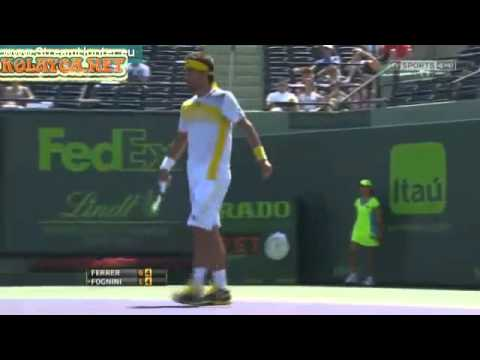 David Ferrer vs Fabio Fognini ATP Miami 2013 Sony Open Tennis 2013 Final