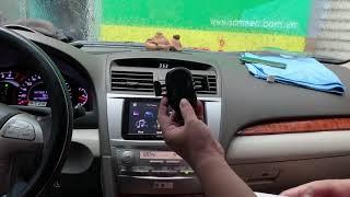 ✅ Giá sạc điện thoại không dây trên oto BASEUS Gravity Car Mount
