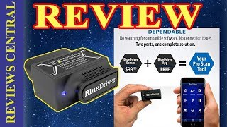 Demo and Review BlueDriver Bluetooth Professional OBDII Scan Tool for iPhone, iPad & Android 2019.