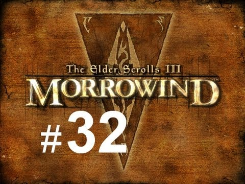 Let's Play The Elder Scrolls III Morrowind #32 Jak Wyleczyć Się Ze Spaczenia.