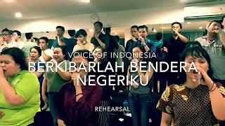 BERKIBARLAH BENDERA NEGERIKU by VOICE OF INDONESIA