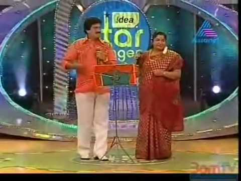Idea Star Singer Season 4 (250 Celebrations) - MG Sreekumar & KS Chithra.rm