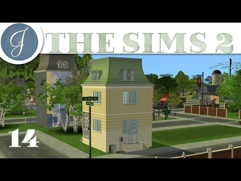 Let's Play The Sims 2 All In One ~ Gameplay  ▶ Decorating - Sloane Townhouse◀  Mods & CC ~ Part 14