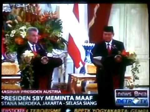 SBY Marah saat Speaker Translator Bermasalah (Kejadian unik)