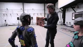 Andy Serkis makes Edward's wish come true
