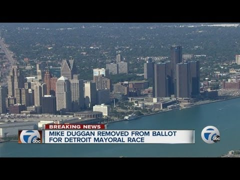 Mike Duggan removed from ballot for Detroit mayoral race