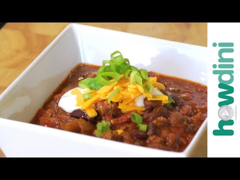 How to make beef chili