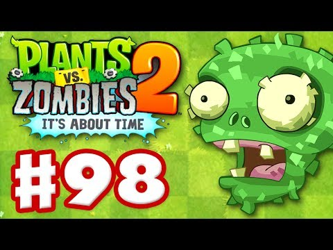 Plants vs. Zombies 2: It s About Time - Gameplay Walkthrough Part 98 - Señor Piñata (iOS)