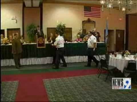 Seminole, Ok. 2 Deputies killed, Sherriff and E.M.Ts  Honored at the 2010 O.S.P.O.A.flv