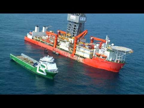 Deepwater Environmental Survey - 6 min client video for Total E&P, West Africa