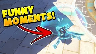 Best Funny Moments From Overwatch PROS