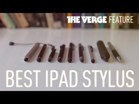 What is the best iPad stylus?