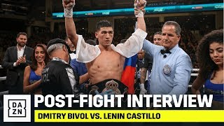 "Dmitry Bivol: ""Who Wants To Try To Beat Me?"""