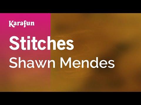 Karaoke Stitches - Shawn Mendes *