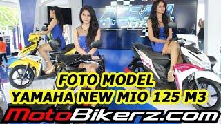 Foto Model & Yamaha New Mio 125 M3