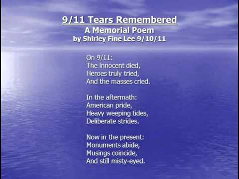911 Tears Remembered A Memorial Poem YouTube