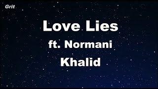 Download Lagu Love Lies - Khalid & Normani Karaoke 【With Guide Melody】 Instrumental Gratis STAFABAND