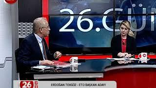 26. Gün | ETO Başkan Adayı Erdoğan Tekgöz