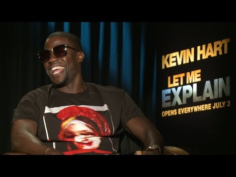 Kevin Hart Freestyle Funny + talks Let Me Explain New Movie