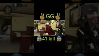 Wtf 😱😱😱 41 kills call of duty mobile my first game
