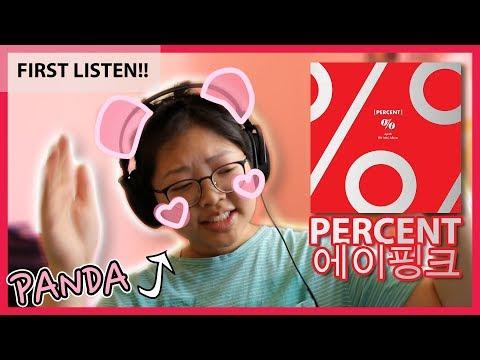 FIRST LISTEN To PERCENT (Apink Album Reaction)