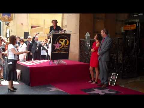 Must see Emma Thomspon unveils star on the Hollywood Walk o