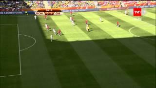 Jean Beausejour - Gol a Honduras - Sudáfrica 2010