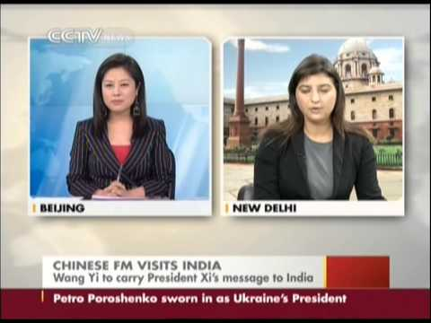 Chinese FM Wangyi visits India