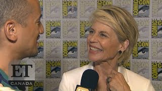 Linda Hamilton On Reuniting With Arnold Schwarzenegger In 'Terminator: Dark Fate'