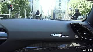 Ferrari 488 Novitec exhaust On board
