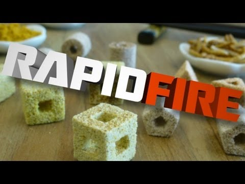 RapidFire: 3D Printed Chocolate and Pizza