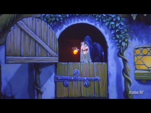 [4K] Tokyo Disneyland Snow White Ride 2016