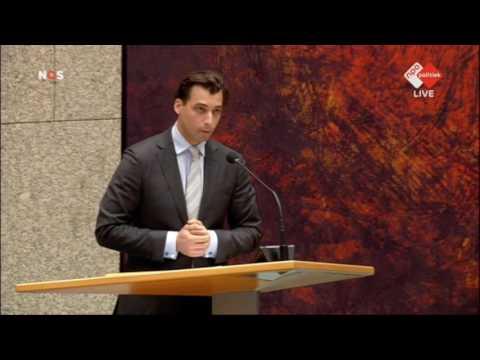 Eerste speech Baudet in de Tweede Kamer na TK2017