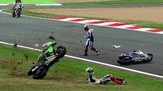 Best of Crash World Superbike Magny-Cours