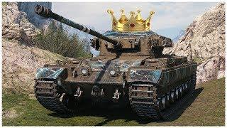 Caernarvon • KING OF LAKEVILLE • WoT Gameplay