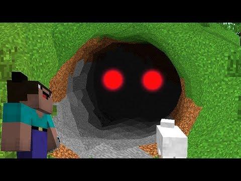 Мод на НУБ ПРОТИВ СЕКРЕТНОГО МОНСТРА съел 1000 нубов ЗОМБИ и Троллинг НУБА в Minecraft Серия 20
