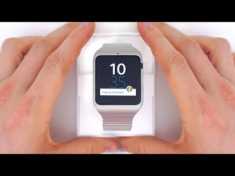 Better Than The Apple Watch? | Sony SmartWatch 3 Unboxing