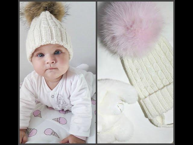 #шапка #шапкаспицами #вязание. Экспресс мастер класс шапки спицами для малышариков. Вязание. Рынашко